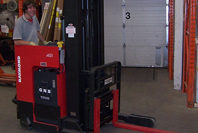 Order Picking Forklift Training